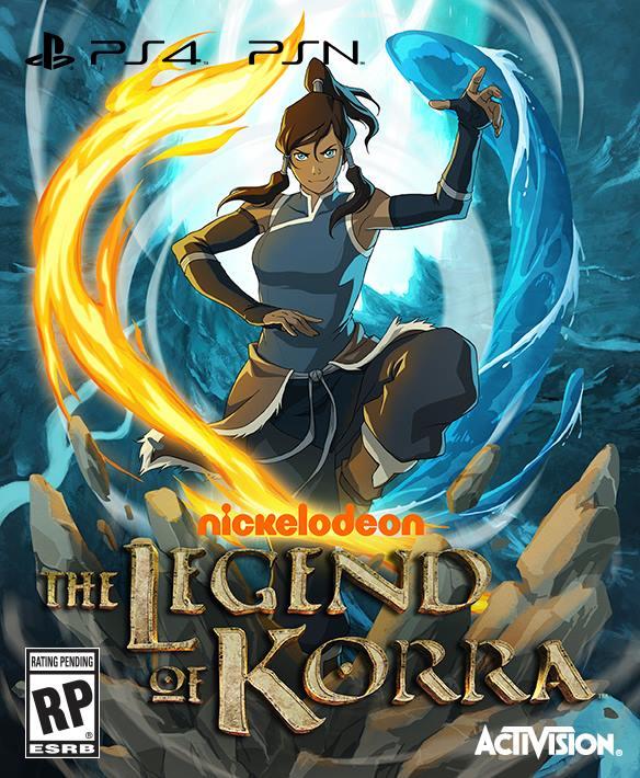 legend of korra cover art